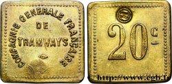 COMPAGNIE GENERALE FRANCAISE DE TRAMWAYS 20 Centimes