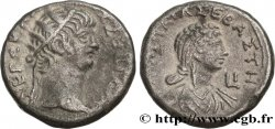 NERO and POPPAEA Tétradrachme