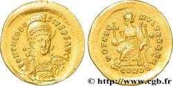 THEODOSIUS II Solidus AU