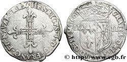 HENRI IV LE GRAND Quart décu de Navarre 1603 Saint-Palais