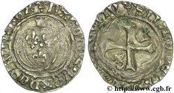 CHARLES VII THE WELL SERVED Petit blanc à la couronne n.d. Saint-Pourçain
