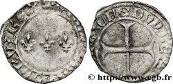 CHARLES VII  THE WELL SERVED  Double tournois n.d. Troyes