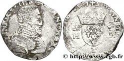 CHARLES IX. MONNAYAGE AU NOM DE HENRI II Teston à la tête nue, 1er type 1561 Nantes