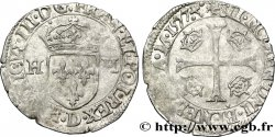 HENRI III Douzain aux deux H, 1er type 1577 Lyon