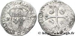 HENRI III Douzain aux deux H, 1er type 1589 Saint-Lô