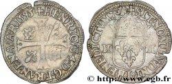 HENRI IV LE GRAND Douzain aux deux H, 3e type 1595 Bayonne