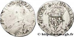 HENRI III. MONNAYAGE AU NOM DE CHARLES IX Teston, 11e type 1575 Lyon