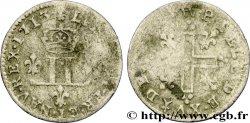 LOUIS XIV THE SUN KING XV deniers aux 2 L couronnées 1713 Metz
