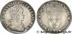 LOUIS XIII LE JUSTE Douzième décu, 3e type 1642 Paris, Monnaie de Matignon