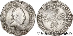 HENRI III Franc au col plat 1586 Rouen