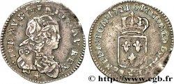 LOUIS XV THE WELL-BELOVED Douzième décu dit de France  1721 La Rochelle