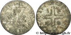LOUIS XIV THE SUN KING XXX deniers aux 2 L couronnées n.d. s.l.