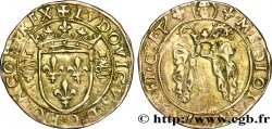 ITALIE - DUCHÉ DE MILAN - LOUIS XII Bissone ou gros royal de 3 sous n.d. Milan