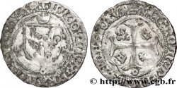 LOUIS XII LE PÈRE DU PEUPLE Douzain ou grand blanc à la couronne n.d. Dijon
