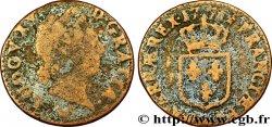 LOUIS XV THE WELL-BELOVED Demi-sol dit à la vieille tête 1771 Metz