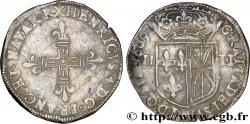 HENRY IV Quart décu de Navarre 1609 Saint-Palais