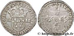 LOUIS XIV THE SUN KING Quart décu 1647 Nantes