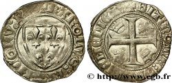 CHARLES VI THE MAD OR THE WELL-BELOVED Blanc dit guénar n.d. Tournai