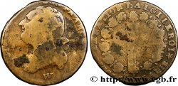 LOUIS XVI 12 deniers dit au faisceau, type FRANCOIS 1793 Lille