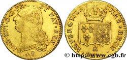 LOUIS XVI Double louis d'or dit aux écus accolés 1789 Bordeaux