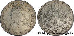 "LOUIS XV THE WELL-BELOVED Écu dit ""aux branches dolivier"" 1730 Nantes"