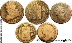 LOTS Lot de cinq monnaies de la Révolution français n.d. s.l.
