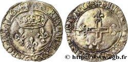 CHARLES IX Double sol parisis, 1er type 1570 Bordeaux
