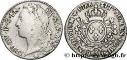 LOUIS XV THE WELL-BELOVED Demi-écu dit au bandeau 1766 Perpignan