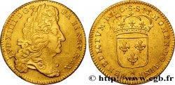 LOUIS XIV LE GRAND OU LE ROI SOLEIL Double louis dor à lécu à la tranche cordonnée 1690 Reims