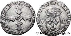 HENRY IV Huitième décu, croix feuillue de face 1603 Bayonne