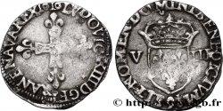 LOUIS XIII Huitième décu, 1er type 1616 Rennes