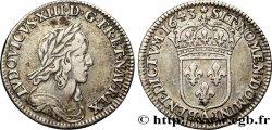LOUIS XIII Douzième décu, 3e type 1643 Paris, Monnaie de Matignon