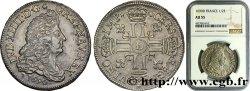 LOUIS XIV THE SUN KING Demi-écu aux huit L, 1er type 1690 Lyon