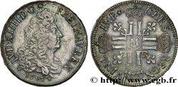 LOUIS XIV THE SUN KING Écu aux huit L, 1er type 1690 Toulouse