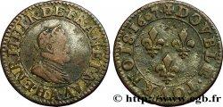 HENRY IV Double tournois, 2e type de Paris (légende française) 1607 Paris, Moulin des Étuves