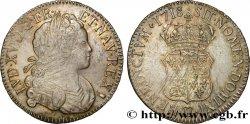 LOUIS XV THE WELL-BELOVED Écu de Navarre 1718 Besançon