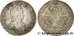 LOUIS XV DIT LE BIEN AIMÉ Écu aux trois couronnes 1715 Lille