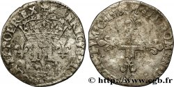 HENRY III Double sol parisis, 2e type 1578 Toulouse VF