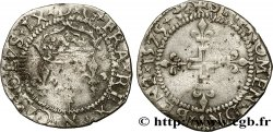HENRY III. COINAGE AT THE NAME OF CHARLES IX Double sol parisis, 1er type 1575 Montpellier