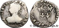 CHARLES IX Teston, 5e type 1567 Limoges