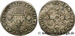 HENRY II Douzain aux croissants 1556 Toulouse VF
