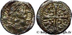 SPAIN - BARCELONA - LOUIS XIV THE SUN KING Denier 1643 Barcelone VF/XF