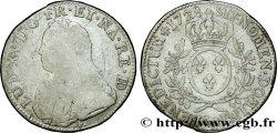 LOUIS XV DIT LE BIEN AIMÉ Écu dit aux branches dolivier de Béarn 1728 Pau