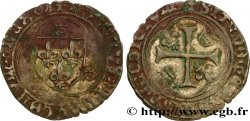 CHARLES VIII Blanc à la couronne n.d. Troyes VF