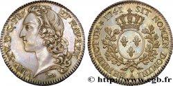 LOUIS XV DIT LE BIEN AIMÉ Pré-série du demi-écu dit au bandeau 1741 Paris