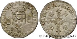 HENRI II Douzain aux croissants 1552 Rouen