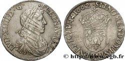 LOUIS XIV LE GRAND OU LE ROI SOLEIL Demi-écu au buste juvénile, 1er type 1662 Bayonne