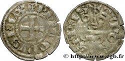 PHILIPPE III LE HARDI ET PHILIPPE IV LE BEL - MONNAYAGE COMMUN (à partir de 1280) Obole tournois à lO rond n.d. s.l.
