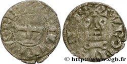 PHILIPP III THE BOLD AND PHILIPP IV THE FAIR Obole tournois à lO rond n.d. s.l. fS