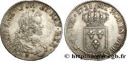 LOUIS XV DIT LE BIEN AIMÉ Écu dit de France 1721 Lille